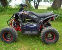Pentora 125 EFI Black Left scaled