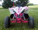 Pentora 125 EFI White Pink Front scaled