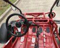 TrailMaster 200E XRS EFI Red inside