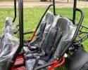 TrailMaster 300 XRS 4 EFI Rear seats