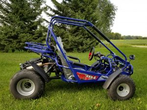 TrailMaster 300 XRS EFI Blue Right 2