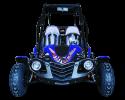 TrailMaster Blazer 200 Blue Front