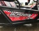 TrailMaster Blazer 4 200 EX EFI Model plate