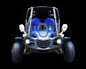 TrailMaster Blazer 4 200 X Blue Front