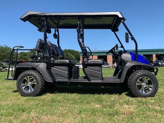 TrailMaster Taurus 4 450 EFI 4x4 Main Blue Right