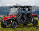 BMS Ranch Pony 700 4S EFI 4x4 Main Red LF mountain