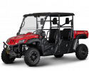 BMS Ranch Pony 700 4S EFI 4x4 Red LF
