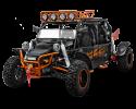 BMS V Twin 800 Platinum 4S Orange