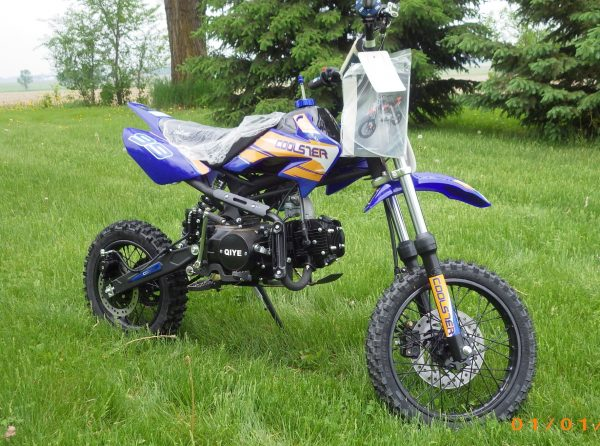 Coolster XR 125 S Main Blue RF