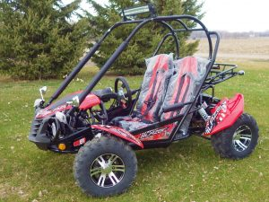 TrailMaster Blazer 200 EX EFI Main Red LF