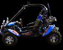 TrailMaster Blazer 200 X Blue Left