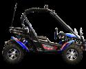 TrailMaster Blazer 200 X Blue Right