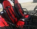 TrailMaster Challenger 200 Red seats
