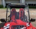 TrailMaster Challenger 200EX Red WS Light bar