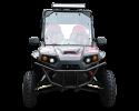 TrailMaster Challenger 200X Black Front