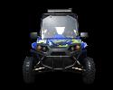TrailMaster Challenger 300EX Blue Front