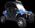 TrailMaster Challenger 300EX Blue RF
