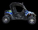 TrailMaster Challenger 300EX Blue Right