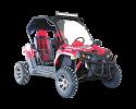 TrailMaster Challenger 300EX Red RF