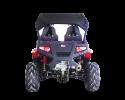 TrailMaster Challenger 300EX Red rear