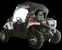 TrailMaster Challenger 300EX White LR