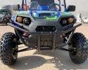 TrailMaster Challenger 4 200EX Blue Front 2
