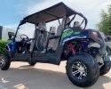 TrailMaster Challenger 4 200EX Blue LR