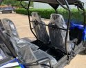 TrailMaster Challenger 4 200EX Blue Seating
