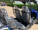 TrailMaster Challenger 4 200X Blue Seating