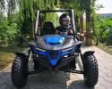 TrailMaster Cheetah 200 EFI Blue Front