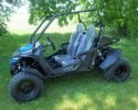 TrailMaster Cheetah 200 EFI Blue Left 5