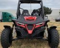 TrailMaster Cheetah 200 EFI Red Front