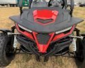 TrailMaster Cheetah 200 EFI Red Front close