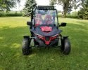 TrailMaster Cheetah 200 EX EFI Red Front scaled