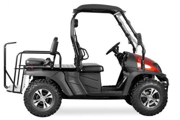 TrailMaster Taurus 450MFV EFI 4x4 Main Red Right seat