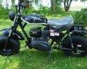 Trailmaster Mini Bike MB200 Black Left