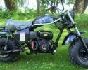 Trailmaster Mini Bike MB200 Black Right scaled