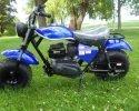 Trailmaster Mini Bike MB200 Blue Left scaled