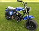 Trailmaster Mini Bike MB200 Blue RF 2 scaled