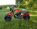 Trailmaster Mini Bike MB200 Red Left scaled
