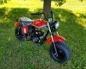 Trailmaster Mini Bike MB200 Red RF scaled