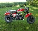 Trailmaster Mini Bike MB200 Red right scaled